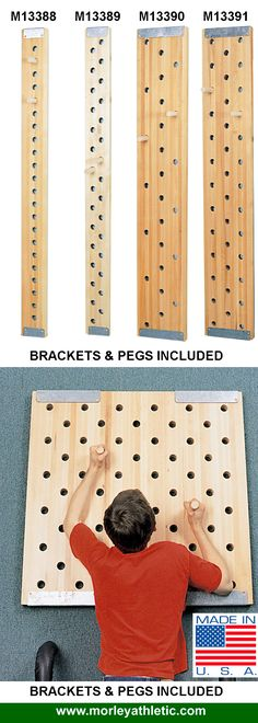 CLIMBING PEG BOARDS - MADE IN THE USA!
