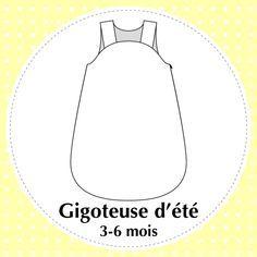 Tuto et patron pour coudre une gigoteuse – Paris / Normandie Couture