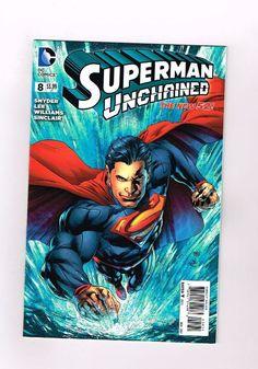 SUPERMAN UNCHAINED #8 Limited to 1:50 Variant by Ivan Reis and Joe Prado! NM  http://www.ebay.com/itm/-/291978847778?roken=cUgayN&soutkn=WTlMng