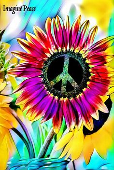 ✌Peace Sign Flower #FlowerPower