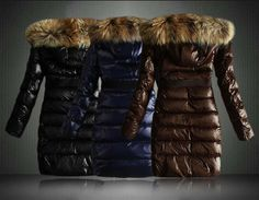 Discount Full sleeve fur collar long slim down coat with hoodie frowm women down parkas on sightface.com