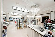 Harrods Beauty Apothecary, London | ml studio – lighting design