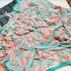 Cotton Dress Indian, Cotton Dresses, Georgette Sarees, Silk Sarees, Best Designer Sarees, Blue Silk Saree, Modern Saree, Indian Sarees, Indian Beauty