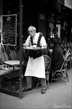 Parisian Waiter #8 by Sebastien MANOURY on 500px
