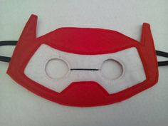 Baymax mask for dressing up/fancy dress by MummyHughesy on Etsy