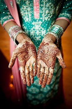 """Photo """"Henna on a bride"""" by Mouazam Malik"""