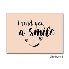 Love & hug Quotes : - Quotes Sayings Hug Quotes, Smile Quotes, Words Quotes, Sayings, Dutch Quotes, I Sent You, Get Well Cards, Happy Thoughts, Journal Cards