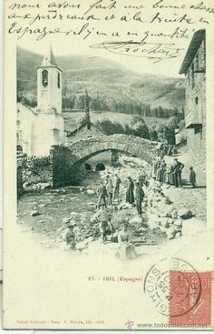 Isil.  Núm. 83. Isil (Espagne). Saint Girons. Imp. A. Rives. Lib.-édit. Circulada 1904