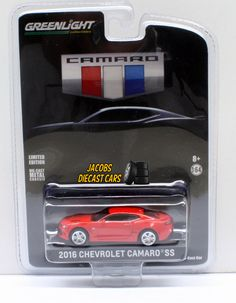 "1:64 GREENLIGHT 2016 CHEVROLET CAMARO ""ALL NEW CAMARO UNVEILING"" EDITION #GreenLight #Chevrolet"