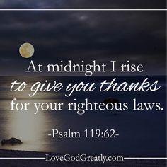lovegodgreatlyofficial#LoveGodGreatly #Psalm119  Week 3- Wednesday  Read: Psalm 119:61-64  New blog post today! Visit us at LoveGodGreatly.com!