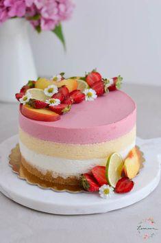 Mousse Cake, Tutti Frutti, Vanilla Cake, Panna Cotta, Gluten Free, Ethnic Recipes, Desserts, Food, Sweet Recipes