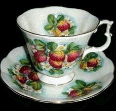 Royal Albert China Series - Orchard Series- Strawberry Fair