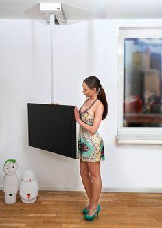 Soporte para fijación al techo para TV 116 | Soporte para TV - Wissmann raumobjekte