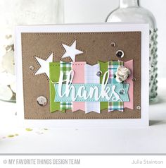 Thanks & Hello Die-namics, Inside & Out Stitched Stars Die-namics, Blueprints 20 Die-namics, Blueprints 29 Die-namics - Julia Stainton  #mftstamps