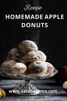 Why not make your own donuts at home? It's simple and so delicious! My kids love my homemade apple donuts.