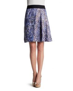 Midi skirts are feminine and classy for a garden party