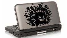 Gengar Pokemon decal for 3DS XL 3DS by FoxDecals on Etsy, $8.99