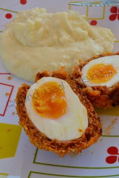 Scotch eggs au chorizo