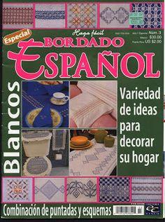 REVISTAS DE MANUALIDADES GRATIS: Bordado Español nº 3 2003