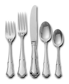 Vintage Hotel stainless flatware, mix of six oldworld
