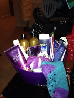 Dollar Tree Gift Baskets Spa Set