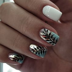 There must be your favorite nail ideas in 140 classic nail designs. - Page 10 of 139 - Inspiration Diary Elegant Nail Designs, Elegant Nails, Stylish Nails, Trendy Nails, Cute Nails, Nail Art Designs, Nails Design, Easy Nails, Spring Nails