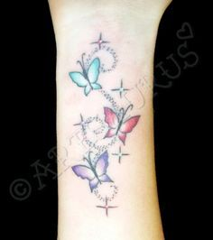 07b8390df ideas about Shooting Star Tattoos on Pinterest | Star Tattoos Tattoos ...  Infinity Butterfly