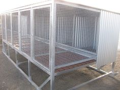 Products and services advertised through Working Stock Dog Deals Custom Dog Kennel, Dog Kennel Designs, Diy Dog Kennel, Dog Kennels, Dog Cages, Pet Cage, Bird Cages, Meat Chickens Breeds, Chicken Breeds