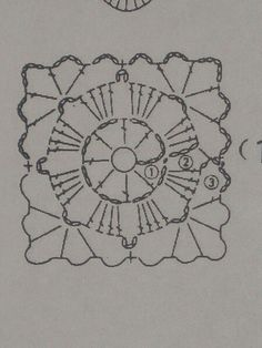 Square chart motif...