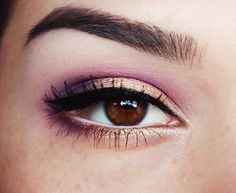 Image result for asian makeup gold purple