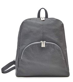 e69ee1ace6663 Italian Leather Backpack - Soft Leather- 100% Italian Leather (Black)   Amazon.co.uk  Shoes   Bags