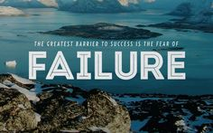 Letting Go of Fear of Failure. Failure may have different implications to various people. It can cripple some, while for others, it is simply the opportunity to start afresh with a renewed approach.