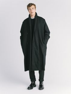 Christophe Lemaire Kaftan Coat is at the top of our wish list this season.