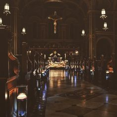 """thecatholicphotographer: """" Sometimes the ways to the Lord are dim and hard to see, but there is beauty every step of the way. """""""