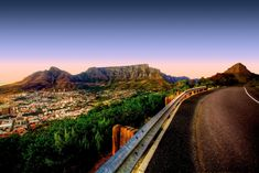 A cyclist's paradise, the famous Garden Route, from Cape Town to Port Elizabeth in South Africa offers a truly breathtaking ride covered over 14 days. Surf Shack, Latina, Cape Town South Africa, Garden Route, Table Mountain, Most Beautiful Cities, Amazing Places, Pretoria, Africa Travel