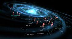 Star wars | The Galaxy by Dennis Schafer #space #viz #data