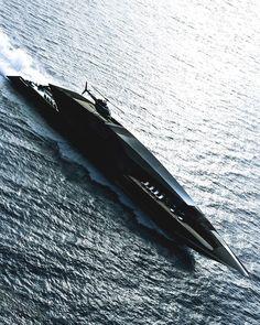 motivationsforlife: Black Swan Yacht designed by Timur Bozca //. Yacht Design, Boat Design, Super Yachts, Swan Yachts, Buy A Boat, Yacht Interior, Interior Design, Float Your Boat, Yacht Boat