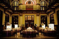 Sophisticated and elegant Nashville Union Station Hotel wedding from Elizabeth Anne Designs - http://www.kristynhogan.com