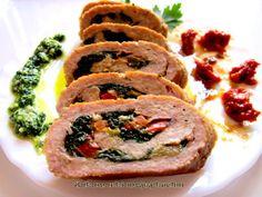 #Roladen #StuffedMeat #Rolada z mięsa mielonego w winnym sosie
