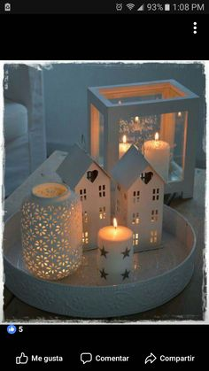 Do you love so much candles on gloomy days? The 12 most comfortable tealight ideas! – DIY craft ideas Do you love so much candles on gloomy days? The 12 most comfortable tealight ideas! Noel Christmas, Winter Christmas, All Things Christmas, Christmas Crafts, Fairy Lights, Tea Lights, Twinkle Lights, String Lights, Candle Lanterns