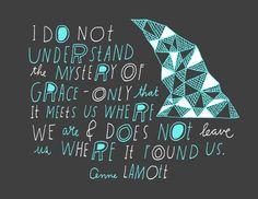 Anne Lamott Quote by Lisa Congdon