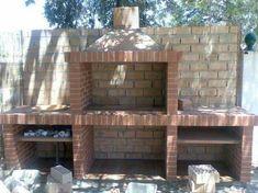 Outdoor Kitchen Patio, Outdoor Oven, Outdoor Kitchen Design, Brick Built Bbq, Brick Grill, Barbecue Garden, Outdoor Barbeque, Outdoor Fireplace Plans, Outdoor Fireplace Designs