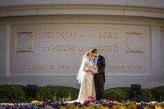 Las Vegas Temple Wedding.