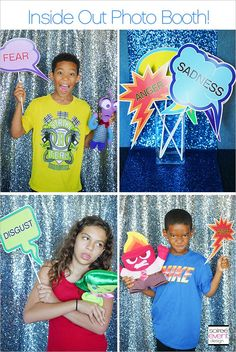 | Disney's Inside Out Party Ideas | http://soiree-eventdesign.com: