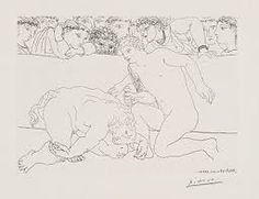 Picasso - Minotaure vaincu, suite Vollard, 1933