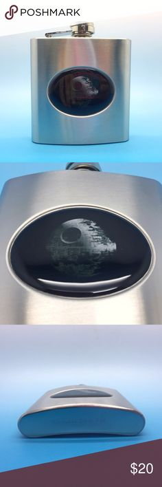 Star Wars Death Star Pocket Flask New. 6 oz.  Stainless Steel.  Great gift item for the nerd or geek in your life! Geek Swag Other