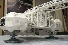 Space 1999 Eagle Transporter | Details #space1999 #moonbasealpha #eagleone
