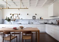the new classic by Cass + Nico (Desire To Inspire) Living Room Renovation, Marble Countertops Kitchen, Beautiful Kitchens, Interior, Home, Room Renovation, Home Kitchens, Classic Interior Design, Kitchen Design