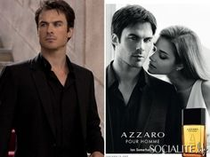 The Advertisement You Need To See: Ian Somerhalder Smolders For His Azzaro Fragrance Campaign
