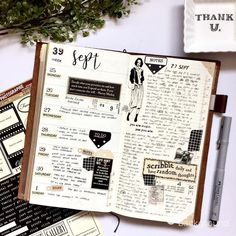 """13 Likes, 1 Comments - Cel (@scrapgurl14) on Instagram: """"Week 39. I haven't caught up with decorating my planner so I'm glad to have plenty of time this…"""""""